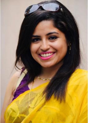 Portrait of Shamayeta Bhattacharya