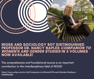 Announcement regarding Dr. Nancy Naples' new book release